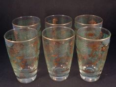 Barware Collection - LIBBEY - MARINE LIFE - HIGHBALL GLASSES