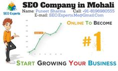 Best SEO Company in Mohali If you are looking for SEO Company in Mohali, SEO Company Mohali provide SEO services in Mohali.We offer SEO, SMO and Local business listing service to increase website v…