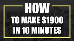 IQ Option   How to Make $1900 in 10 Minutes
