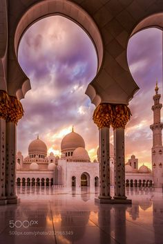 Sunset at the Mosque by JulianJohnPhotography check out more here https://cleaningexec.com