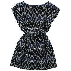 Soeur Blue Ikat Dress #ladida #ladidakids