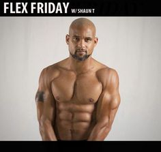 Flex Friday w/ Shaun T Insanity Workout Motivation, Fitness Motivation, Flex Friday, Body Figure, Make A Choice, May 1, Beautiful People, Gym, Instagram Posts