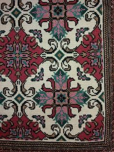 Gallery.ru / Фото #53 - ιουλιος - ergoxeiro Cross Stitch Love, Counted Cross Stitch Patterns, Cross Stitch Embroidery, Old Fashioned House, Rug Inspiration, Needlepoint Designs, Star Patterns, Crochet Crafts, Cross Stitching