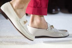 The Gucci 1953 Horsebit Loafer. They are reissuing them this year!! Serious love item!!!