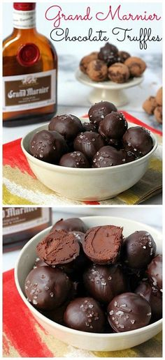 Grand Marnier Truffles - an easy DIY candy making recipe! Everyone loves these!
