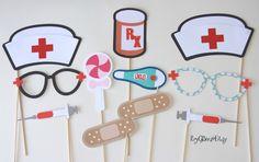 Nursing Photo Booth Props Nurse Graduation Nurse Fun