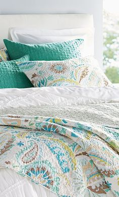 Because It Is Reversible, The Summerlin Quilt Gives You Twice The Pretty  For Your Bedroom