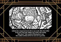 Harlem Renaissance Book Nora & Nick Pg. 7 - Miles Davis - Cotton Club