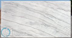 Arabescato White - Slab View Marble