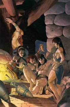 """""""""""Not drinking at all. They say you've got the best selection on the isles."""" – Conan """" Cover art for Conan the Barbarian Vol. 3 """"Barbarian Love"""" Art by Esad Ribic Comic Books Art, Comic Art, Dark Fantasy, Fantasy World, Conan The Barbarian Comic, Larp, Conan Exiles, Character Art, Character Design"""