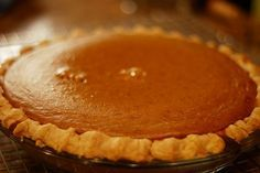 New Nostalgia – Perfect Pumpkin Pie- Amy knows the secret, actually two ingredients make this pie silky smooth and creamy sweet... can you guess?