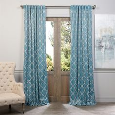Shop Exclusive Fabrics & Furnishing Exclusive Fabrics & Furnishing BOCH-KC Seville Blackout Curtain Panel at ATG Stores. Browse our curtains & drapes, all with free shipping and best price guaranteed.