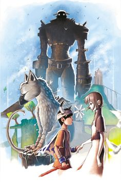 Ico, Shadow of the Colossus, and The Last Guardian Tribute - Chrissie Zullo