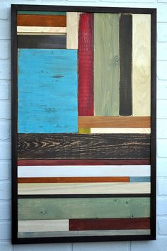Wall Art  Rustic  Reclaimed Wood Art Sculpture  by moderntextures, $250.00