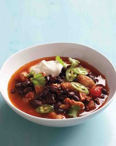 Slow-Cooker Recipes: Spicy Turkey Chili