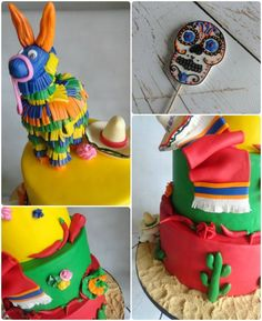 Fiesta Birthday Cakes My Pink Little Cake Mexican Fiesta Theme Cake Mexican Themed Cakes, Mexican Fiesta Cake, Mexican Fiesta Birthday Party, Fiesta Theme Party, Party Cakes, Theme Cakes, Themed Birthday Cakes, Pink, Character