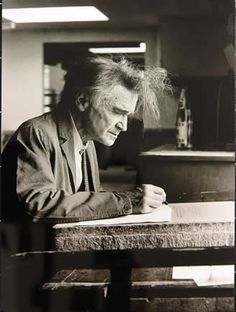 Emil Cioran, photographed by Franziska Messner-Rast