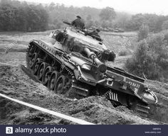 A Centurion Tank Of The British Army During An Allied Tank Exercise Stock Photo, Royalty Free Image: 56889032 - Alamy