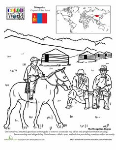 Color the World South Korea Coloring Introduce and Art worksheets