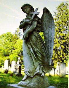 Cemetery Angel - taken by my friend Joan Ross