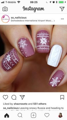 Chic Nails, Stylish Nails, Trendy Nails, Nail Art Designs Videos, Acrylic Nail Designs, Acrylic Nails, Crazy Nails, Fancy Nails, Holiday Nails