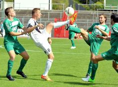 Gegen den Aufsteiger #Cronenberger SC gewinnt der #ETB Schwarz Weiss Essen locker mit 5:0.  #fussball #soccer #uhlenkrug