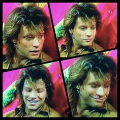 Jon Bon Jovi from interview with Bob Geldof's late ex-wife (her name escapes me at the moment).