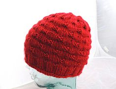 Another simple to knit hat pattern designed as part of our local annual hats for kids project.
