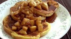 Cinnamon Apple & Raisin French Toast (a.k.a. My Birthday French Toast)