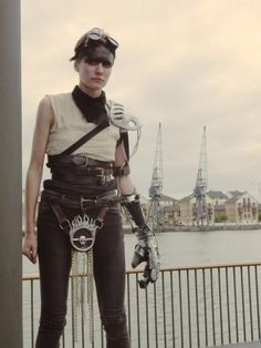 Here's How One 'Mad Max' Cosplayer Made an Amazing Furiosa Arm