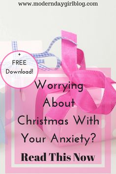 Worrying about your anxiety during Christmas? I know how you feel. Here are some helpful tips and ideas to keep you sane during Christmas
