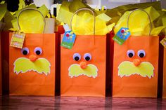 The Party Wall: The Lorax Party (Part 2): Decorations, Games & Activities
