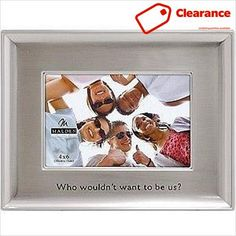 picture frames / photo frames: Who #wouldn't #want to be us A funcontemporarydesign with special inscription showcases best friends and family. Add a great phot...