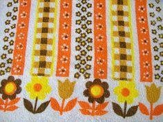 Vintage Hand Towel  Kitchen Towels Springtime by VintagePlusCrafts, $5.00