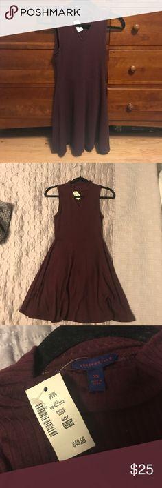 Casual dress Dark Purple/burgundy Aeropostale dress Aeropostale Dresses Mini