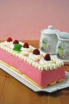Ital Food, Hungarian Recipes, Hungarian Food, Cream, Cake, Drink, Sweet Recipes, Mascarpone, Raspberries