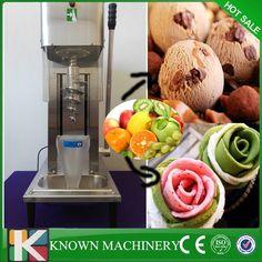 1700.02$  Buy here - http://alieee.worldwells.pw/go.php?t=32770123876 - High efficiency compressor  stainless steel frozen yogurt blender kinds fruits ice cream mixer making machine  1700.02$