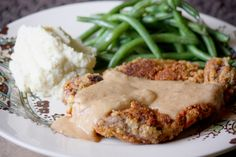 Grain-Free Chicken Fried Steak With Homestyle Gravy