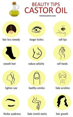15 Amazing beauty tips using castor oil