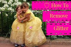 When Disney Princess Dresses Attack: Everything you need to know about getting rid of glitter