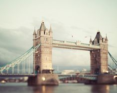 Tower Bridge Photo, London Photograph, England