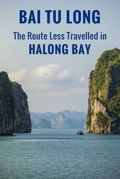 It's a shame how Halong Bay has been mercilessly spoiled by mass tourism. BUT, for visitors to Vietnam, there's still hope. Escape the crowds and polluted waters by sailing through Bai Tu Long Bay instead of the popular tourist route. Bai Tu Long Bay, Ha Long Bay, Vietnam Travel Guide, Asia Travel, Hanoi, Hoi An, Da Nang, Vietnam Holidays, Visit Vietnam
