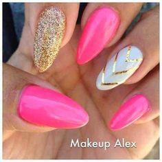 Cute Pink Nails Nail Designs imgf49699ecf24be503a