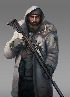 General Hiram Elkonin.  Leader of League of Ghosts.