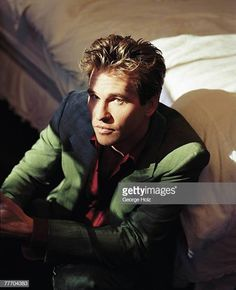 Val Kilmer by George Holz; PUBLISHED Get premium, high resolution news photos at Getty Images Hollywood Actor, Hollywood Stars, Teenage Crush Quotes, Doc Holliday, Val Kilmer, Interesting Faces, Celebrity Crush, Pretty People, Hot Guys