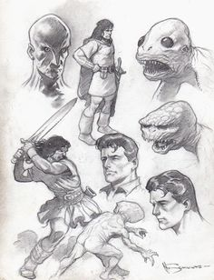 Mark Schultz Comic Art