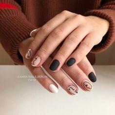 Black velvet for Marina 🔥🖤 Матовый топ от – моя . Nail Art Designs, New Nail Art Design, Holiday Nail Designs, Holiday Nails, Minimalist Nails, Wedding Nails Design, Wedding Designs, Trendy Nail Art, Super Nails