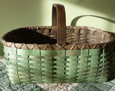 The Basket Blog | Joanna's Collections - Country Home Basketry Staining and/or painted finish options