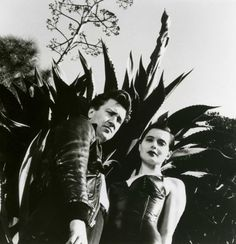 David Lynch and Isabella Rossellini by Helmut Newton (1988)