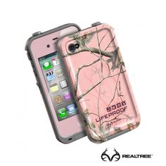 LifeProof Iphone 4/4S in Realtree Pink Camo - Pin it and get a chance to win it. Will pick till  11/22.  #realtreepink #lifeproof